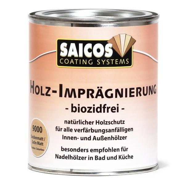 SAICOS Holz-Imprägnierung biozidfrei seidenmatt