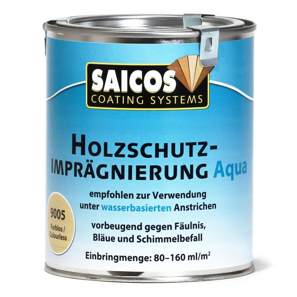 SAICOS Holzschutz-Imprägnierung Aqua
