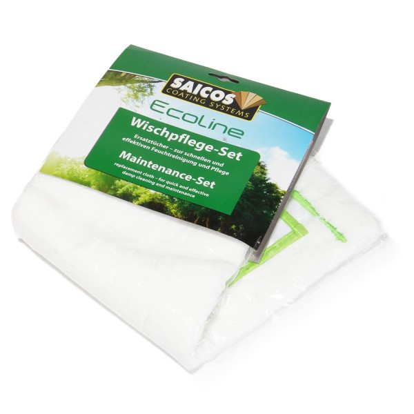 Ersatztücher für das SAICOS Ecoline Wischpflege-Set (2 Tücher)