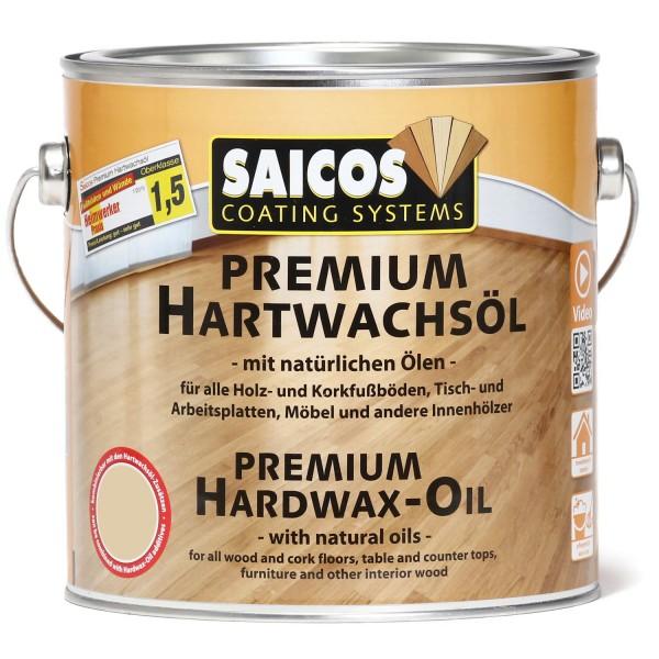 SAICOS Premium Hartwachsöl Silbergrau transparent matt