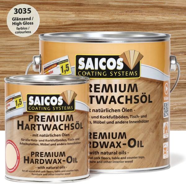 SAICOS Premium Hartwachsöl Glänzend farblos